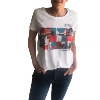 Tshirt donna cotone unifenomenale sostegno ricerca crowdfunding