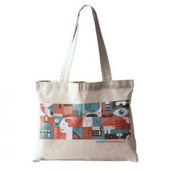 Shopping bag unifenomenale sostegno ricerca crowdfunding